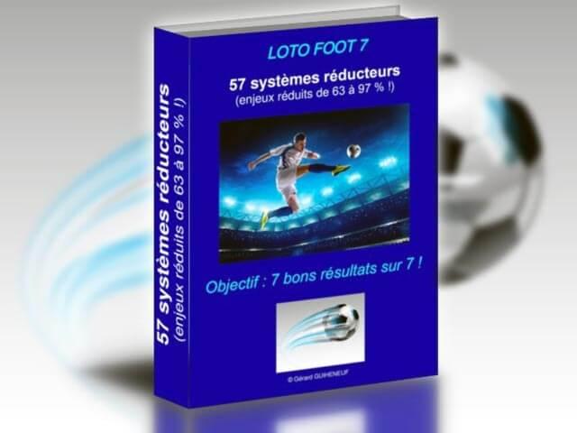 57 systèmes réducteurs pour le loto foot 7